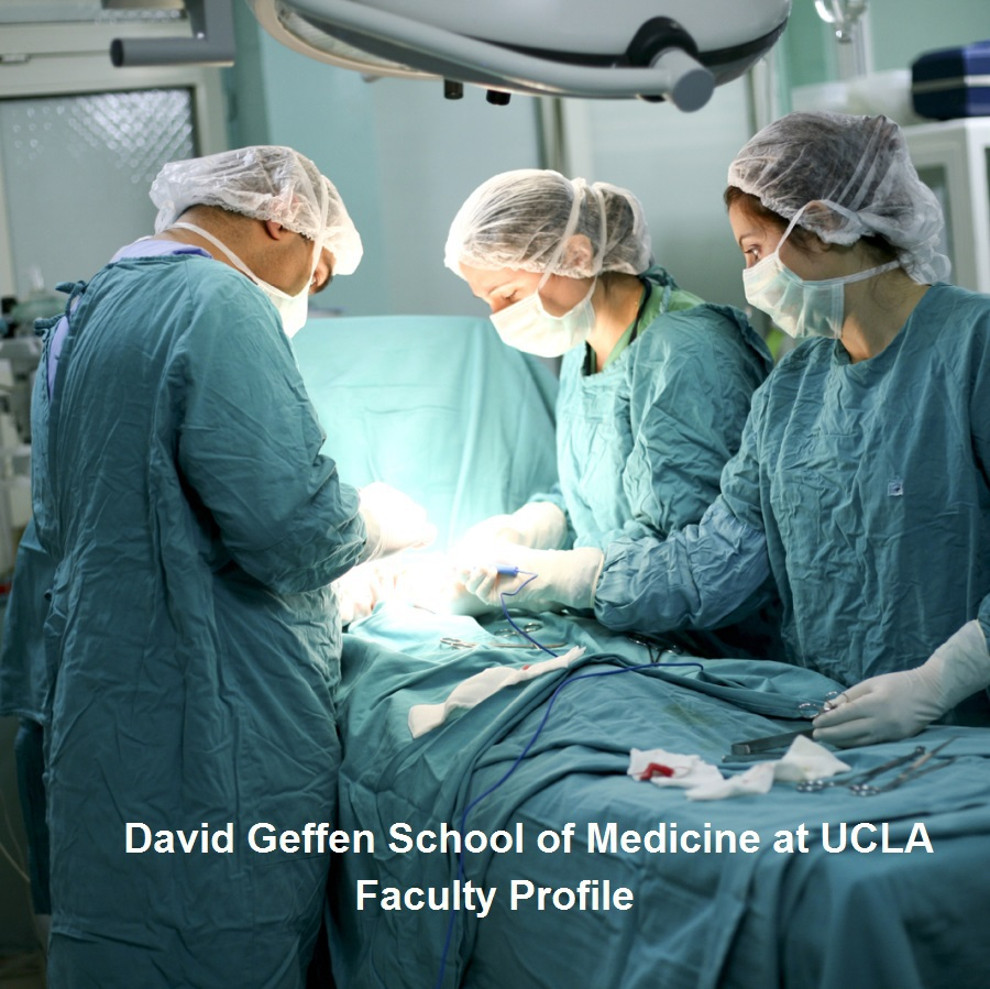David Geffen School of Medicine Faculty Profile for Robert B. Cameron, MD