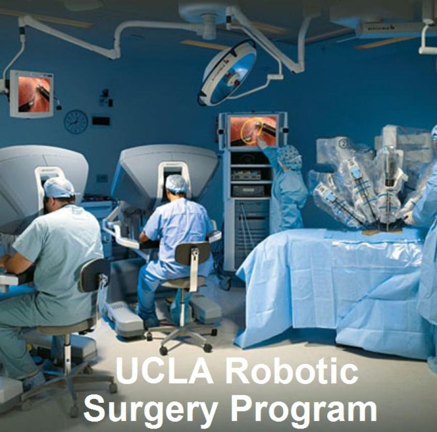 Robert B. Cameron, Robotic Thoracic Surgeon of the UCLA Robotic Surgery Program