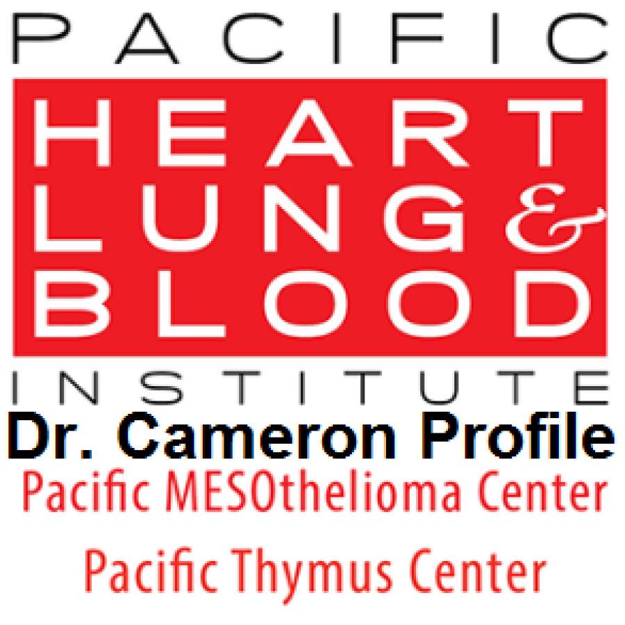 Robert B. Cameron, MD at the Pacific Heart, Lung, & Blood Institute