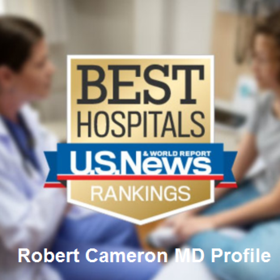 Robert B. Cameron, MD on the US News and World Report Profile
